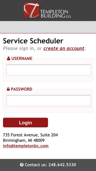 Templeton BC Service Scheduler