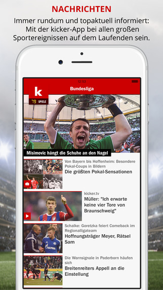 kicker Fußball News