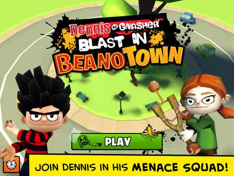 Dennis Gnasher Blast in Beanotown