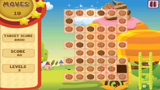 Cookie Craze Saga - Yumyy Dessert Match Game