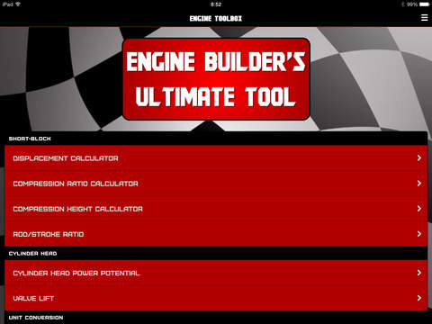 Engine ToolBox Calculator