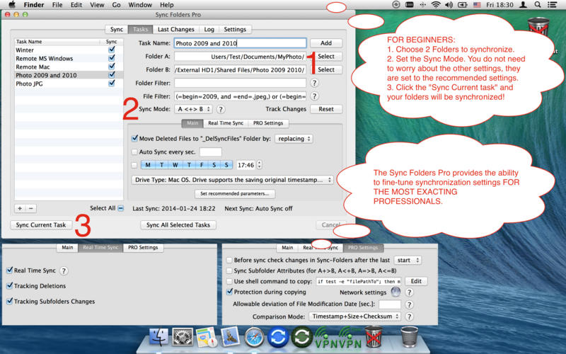 Sync Folders Pro for Mac 3.3.7 激活版 - Mac上优秀的文件夹同步工具