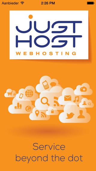 Just Host app