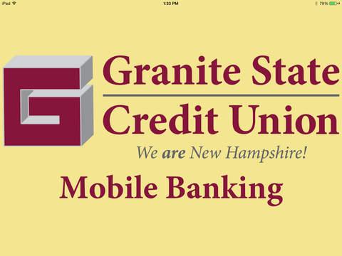 Granite State Credit Union for iPad