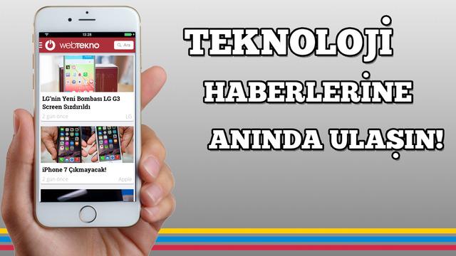 Webtekno - Teknoloji Haberleri