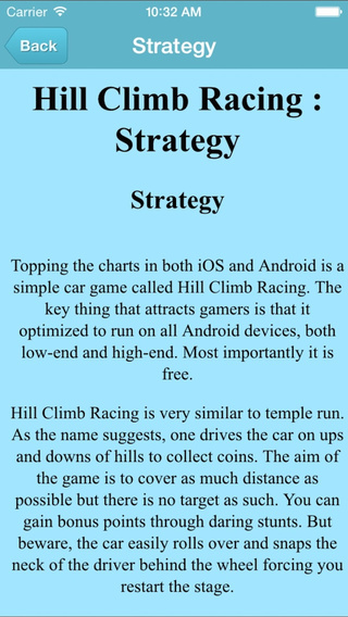 Guide for Hill Climb Racing - Full Walkthrough Wiki Guide and Tips All Video Guide