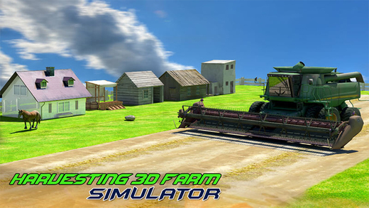Harvesting 3D Farm Simulator - Agriculture Crops Reaping Plowing Machine