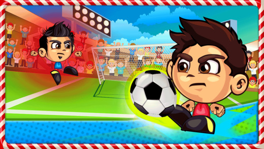 Action Soccer Heads Tournament - Ultimate Football Striker Penalty Shoot Out