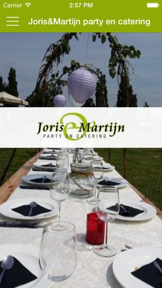 Joris Martijn party en catering