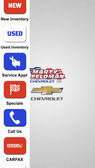 Marty Feldman Chevrolet Dealer App