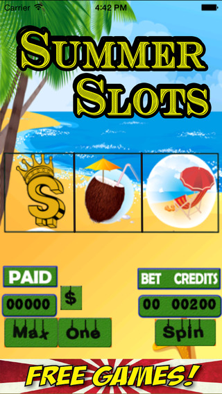 Summer Slots in Beach 2015 and Enjoy Slotspot 777 Jackpot Area Free