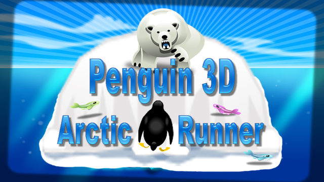 Penguin 3D Arctic Runner - Feed and Save The Hungry Penguin