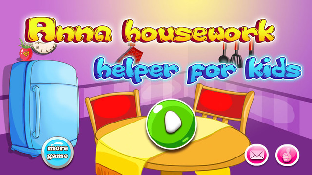 Anna housework helper free cleaning game for kids