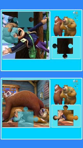 大熊二熊拼图 熊出没智力拼图iPhone版下载