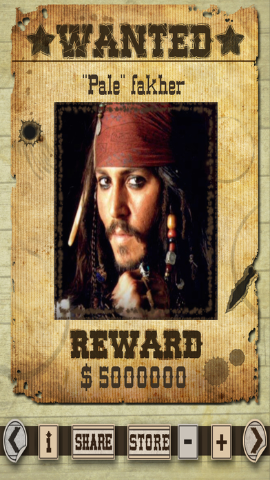 Most Wanted Poster Generator Free-1