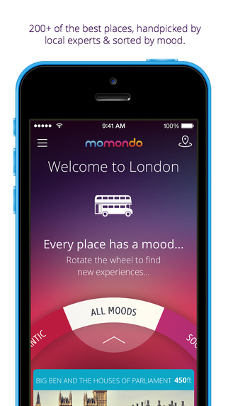 London travel guide free offline city map - momondo places