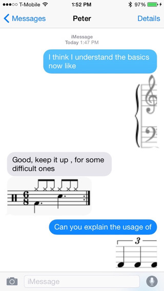 Musical Signs Keyboard Stickers: Chat with Musical Icons on Message and More