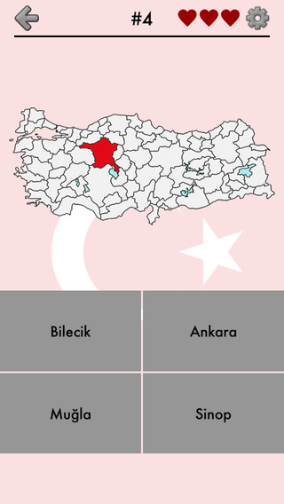 Provinces of Turkey Quiz - Locations on the Turkish Map and License Plate Codes - From Istanbul to E