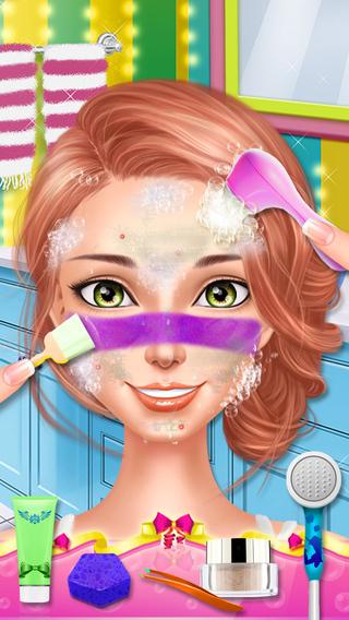 High School Sweetheart Salon - Dress Up Makeup Girls Game