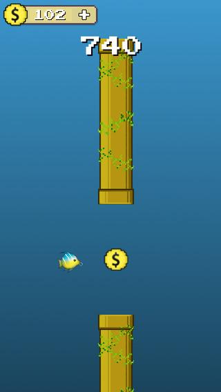 Dive Fish Hero : Go Deep