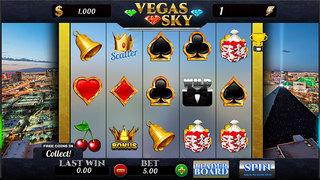 AAAA Aatom Slots Vegas Sky FREE Slots Game