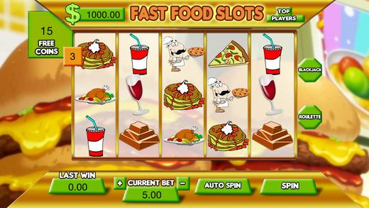 All Fast Food Slots FREE