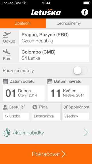 Letuska.cz - jednička na trhu letenek