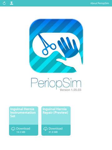 玩免費醫療APP|下載PeriopSim app不用錢|硬是要APP