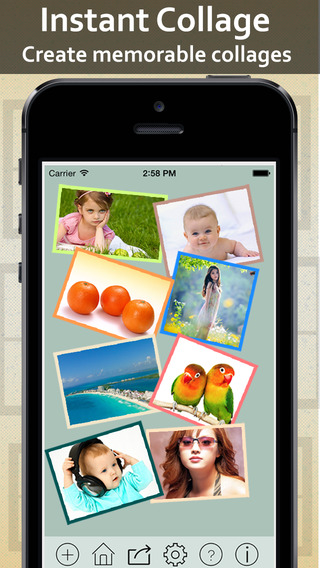Instant Collage Free - make your moments beautiful piccollage and bring your all pics into single pi