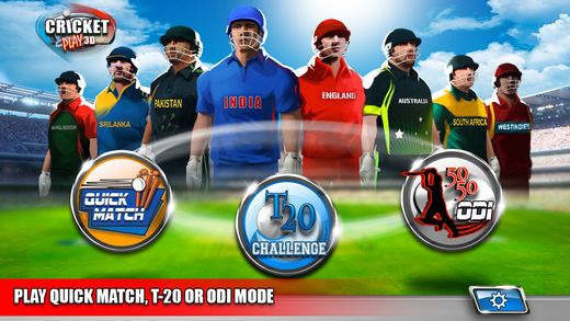 Cricket Play 3D - Live The Game World Pro Team Challenge Cup 2015