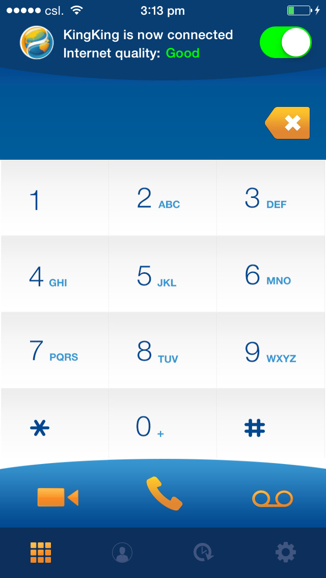 csl how to make local call when overseas