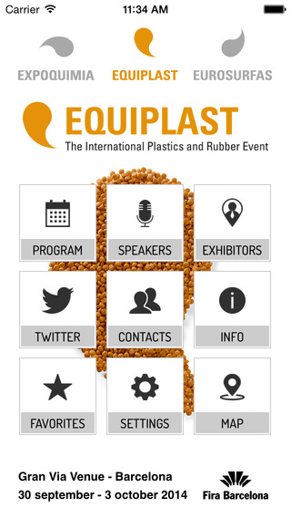Equiplast- International Plastics and rubber Event APP