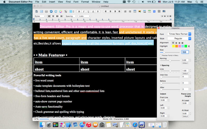 Document Editor Pro Screenshot - 5