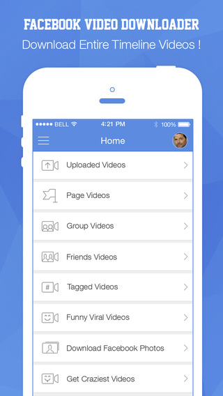 FB Video Downloader-Download and Save Your Videos and photos of FB edition in Gallery to Album