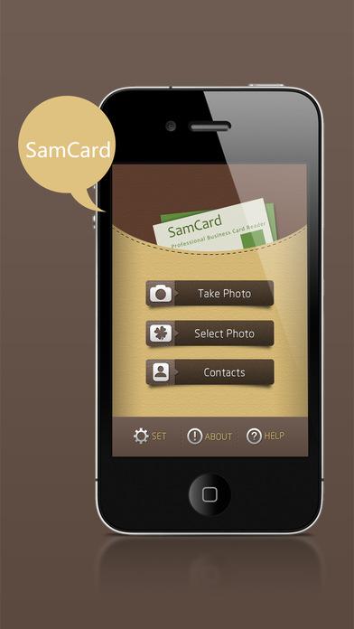 SamCard-Card Reader&business card scanner&visiting app image