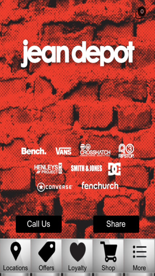 Jean Depot Official App