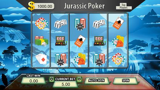 Jurassic Poker Jackpot Slots - FREE Las Vegas Casino Spin for Win