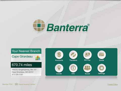 Banterra for iPad