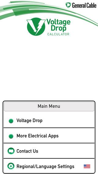 General Cable Voltage Drop Calculator