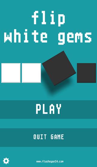 Flip White Gems