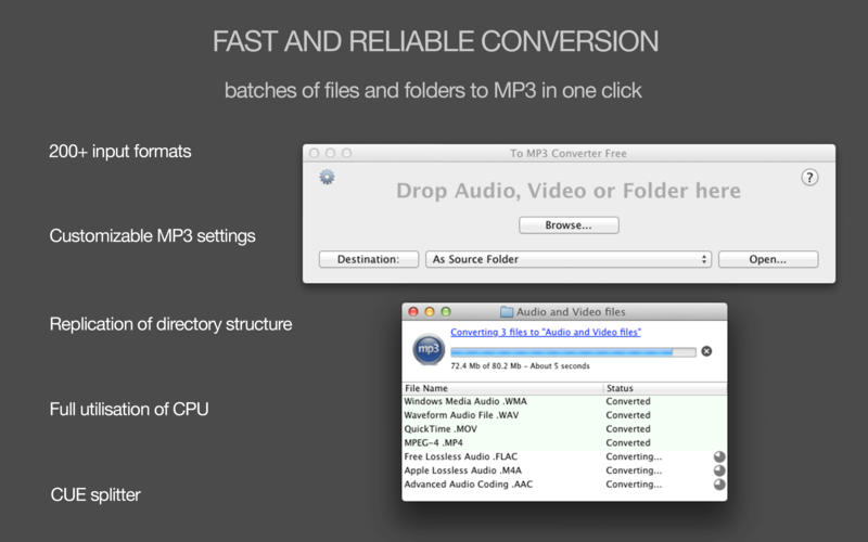 To MP3 Converter Free Screenshot - 1