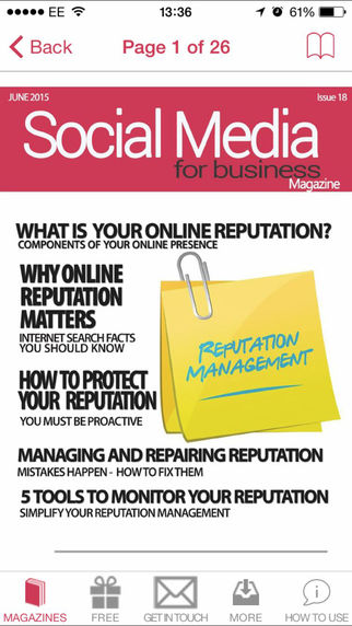 Social Media For Business Magazine