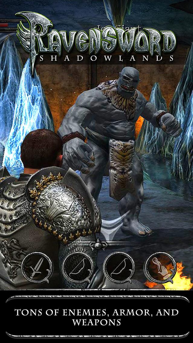 Ravensword: Shadowlands. Скрин 1