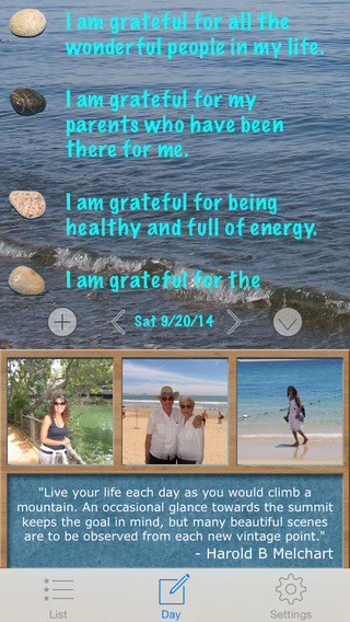 Gratitude Rock - Journal Diary of Positive Thoughts