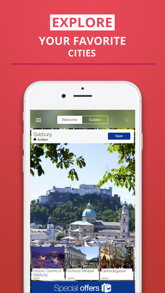 Salzburg - your travel guide with offline maps from tripwolf guide for sights restaurants and hotels