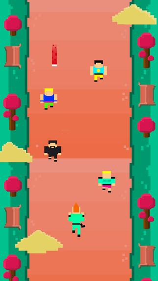 Pixel Park - Endless Runner Saga HD