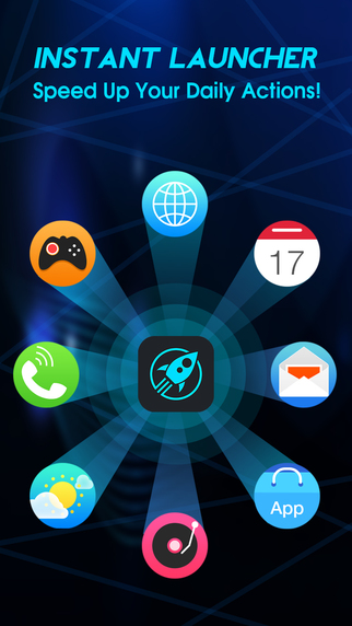 Instant Launcher Shortcut support notification center widget