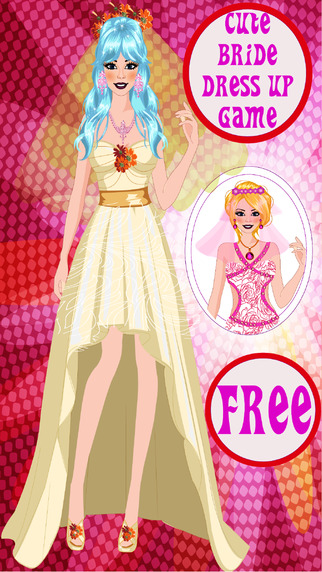 Cute Bride Dress Up Game
