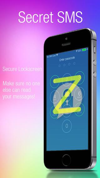 SMS Secret For iOS 8