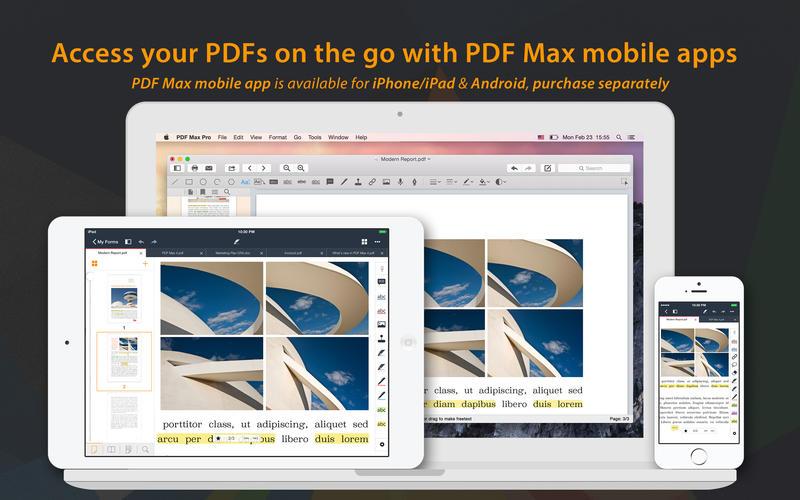 PDF Max Pro Screenshot - 5